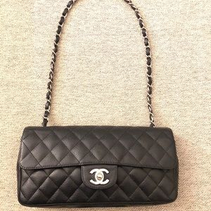 Chanel Vintage Quilted Classic Flap Bag